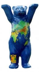 Designstreit Berliner Bär Von 39 Cm Großen Porzellan Teddy