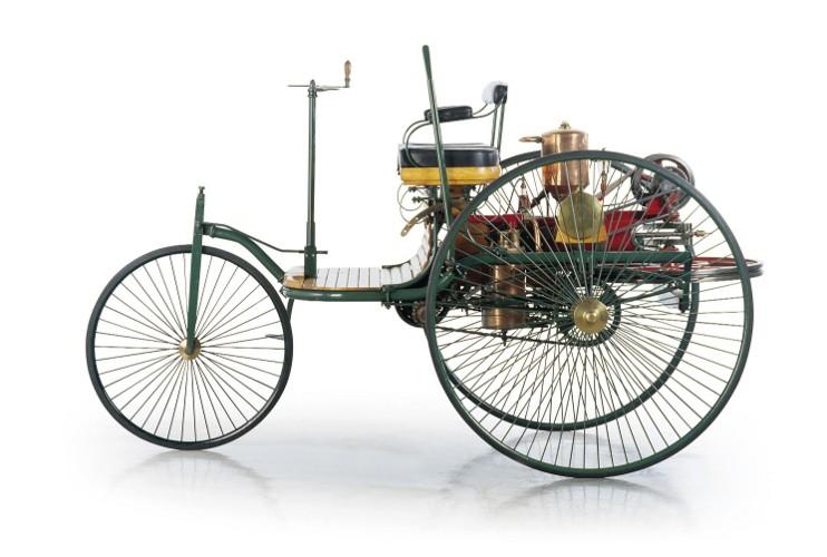 Patent-Motorwagen Nr.1 von Carl Benz; Foto: Daimler AG