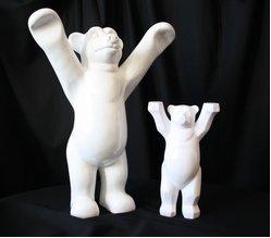 """links """"Teddy"""", rechts """"Buddy Bär""""; Quelle: OLG Hamm"""