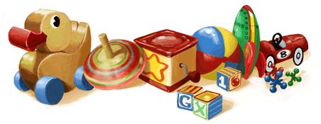 Google Doodle zum Kindertag