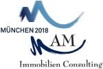 oben: Marke der Olympiabewerbungsgesellschaft; unten: Marke der AM Immobilien Consulting