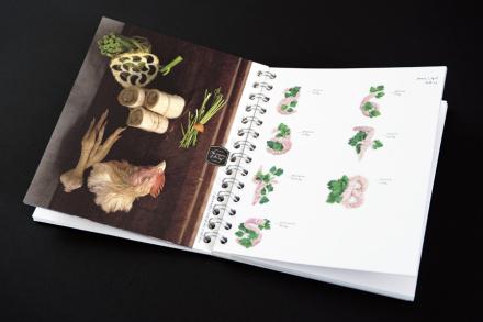 """""""Eat! Design with Food 2012""""; Design: EIGA, Hamburg; Verlag: NBVD Verlag & Design"""
