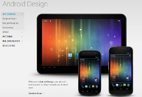 Android Design; Quelle: http://developer.android.com