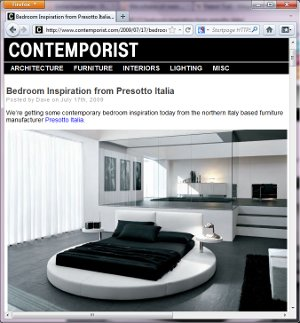 Design: PRESOTTO INDUSTRIE MOBILI S.p.A. ; Quelle: www.contemporist.com