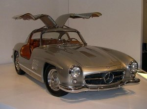 Mercedes-Benz 300SL; Foto: Sfoskett on de.wikipedia.org