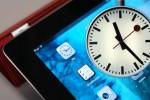 Bahnhofsuhr auf dem iPad
