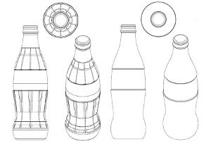 Markenschutz 3D-Marke Coca Cola - Flasche