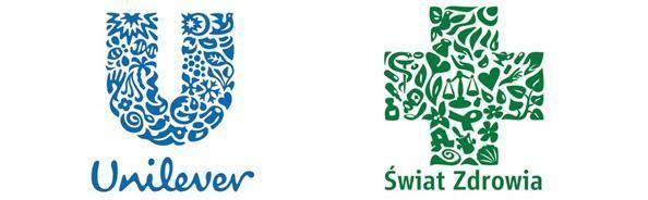 Logo Unilever vs Logo Swiat Zdrowia
